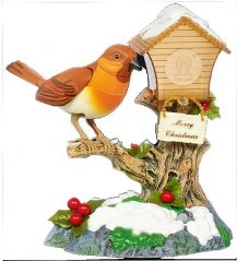PREMIER MB121237  Robin On Bird House
